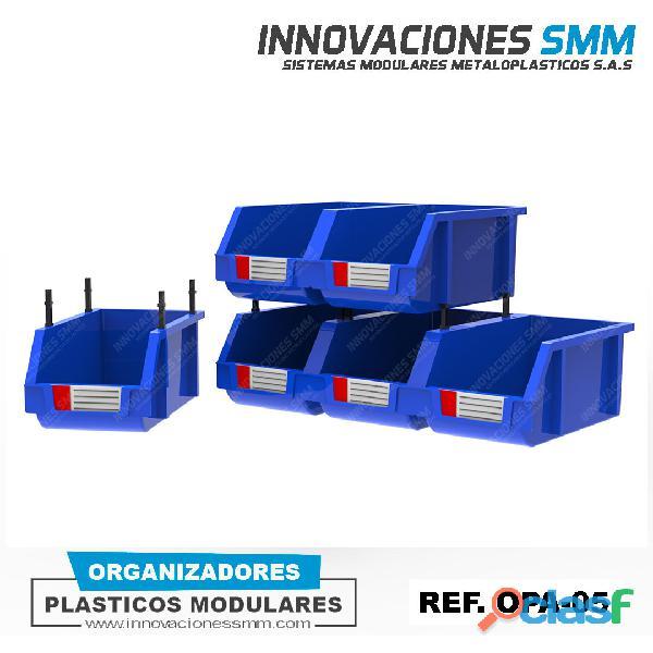 ORGANIZADORES CAJAS GAVETAS PLASTICAS TORNILLEROS ABIERTO REF. OPA 05