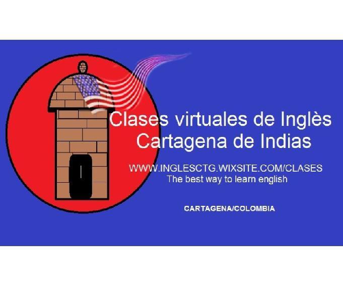 Clases virtuales de inglés Cartagena de Indias