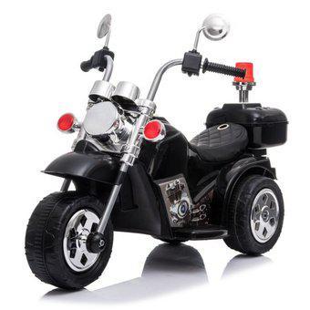 Moto eléctrica para niños triciclo trimoto tipo harley