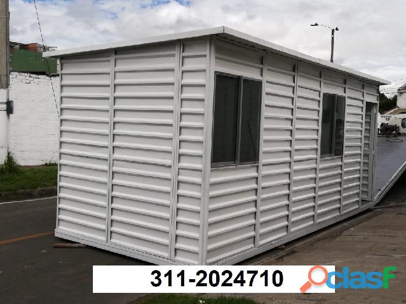 fabrica casetas metalicas, campamentos y contenedores livianos