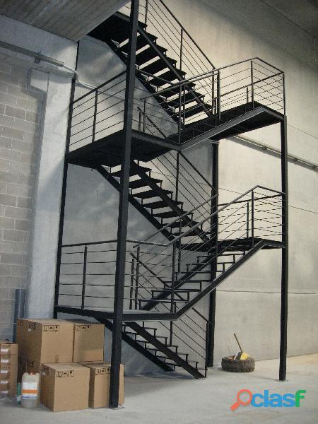 fabrica de escaleras metalicas,escaleras metalicas