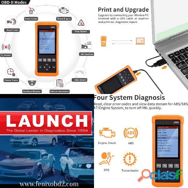 Scanner Launch U500 Premium Car Test Colombia