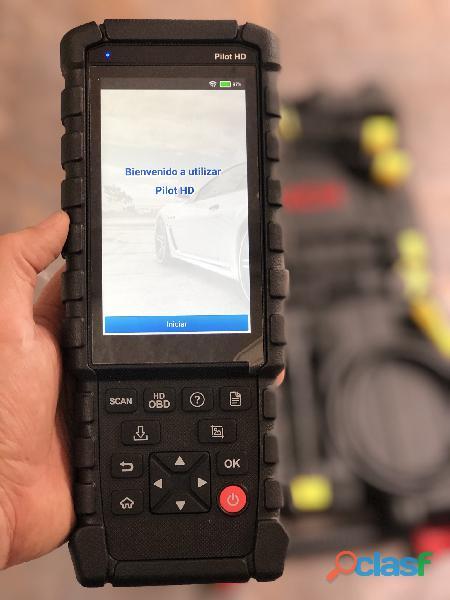 Scanner Pesados Launch Pilot Hd Car Test Colombia 1