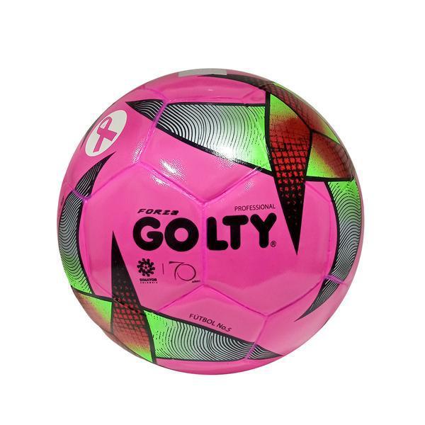 Balón profesional forza n°5 rosado