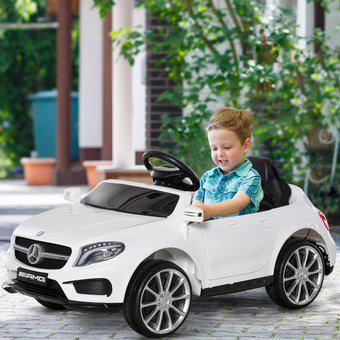 Carro electrico niño recargable montable mercedes benz