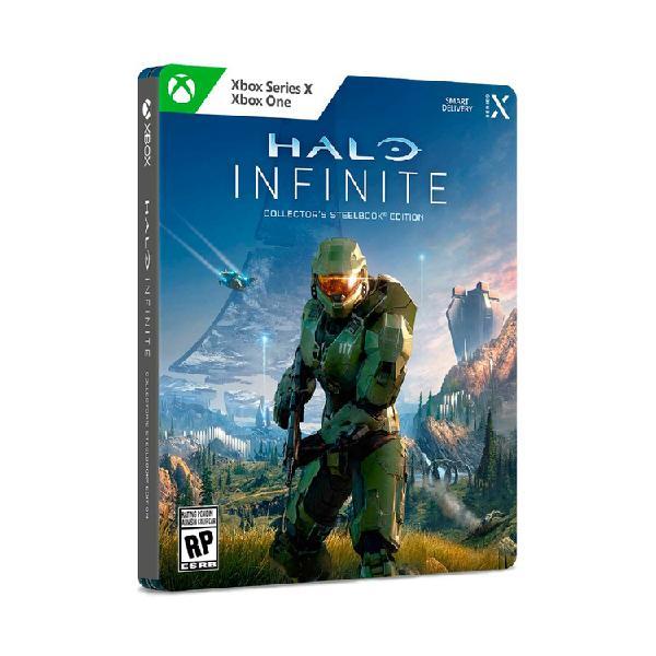 Juego xbox one series x halo infinite steelbook edición
