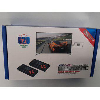 Mini consola inalambrica retro 620 juegos clásicos usb