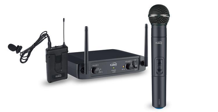 Micrófono kalley inalámbrico k-mi99m