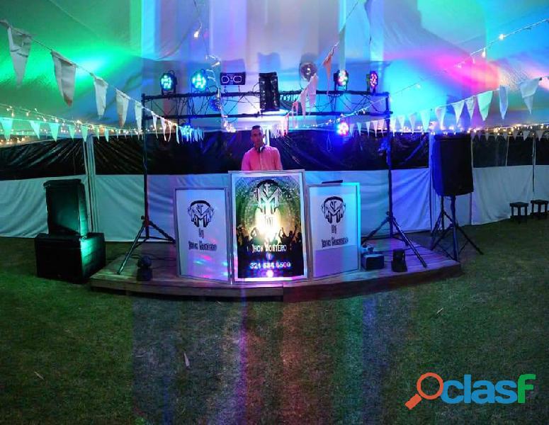 DJ, Luces y Sonido para eventos eje cafetero 2