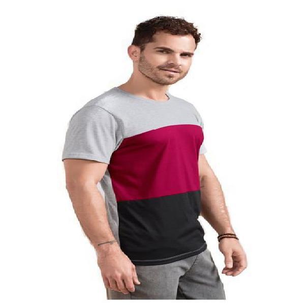 Camiseta para hombre gris jaspe mp