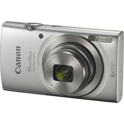 Canon cámara powershot elph 180 gris