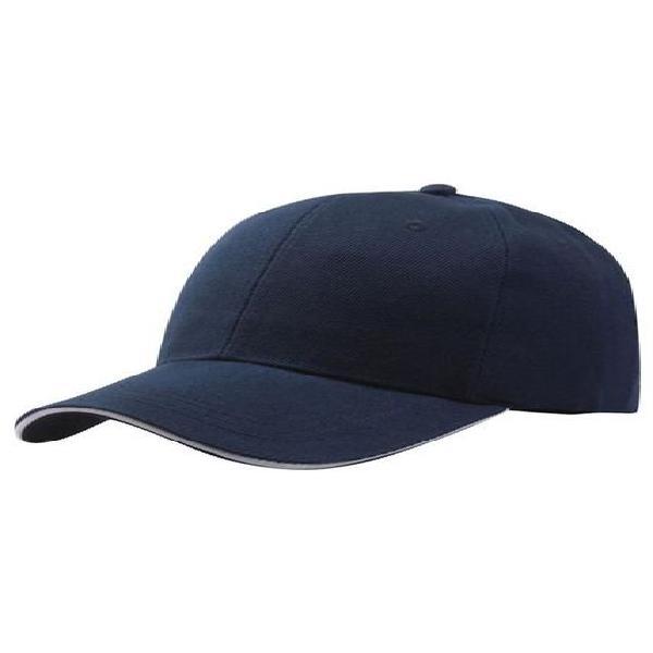 Gorra beisbol unisex ajustable hip hop azul oscuro