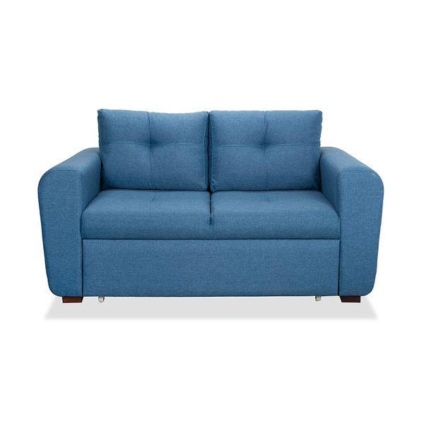 Sofá cama cajón bóston azul royal