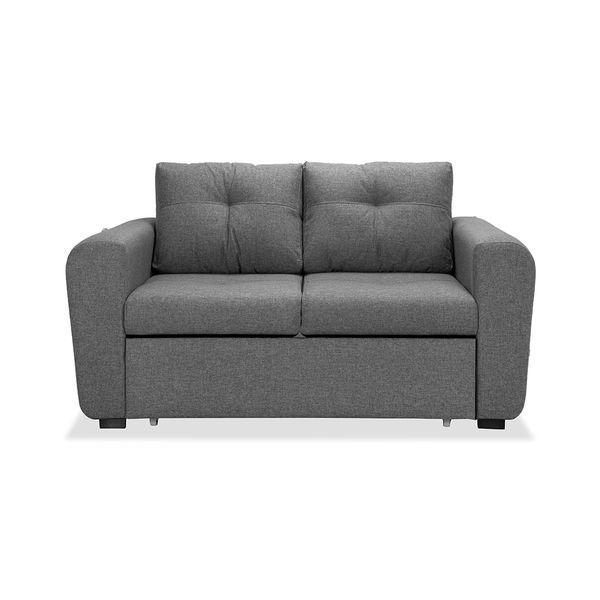Sofá cama cajón bóston gris acero