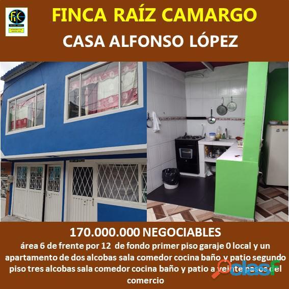 CASA ALFONSO LOPEZ