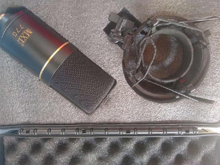 Microfono mxl 770 condensador cardioide de estudio en muy