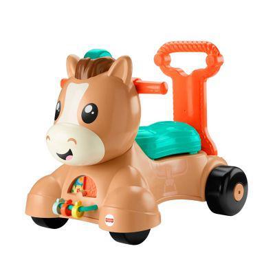 Fisher price juguete de bebé fisher price pony camina