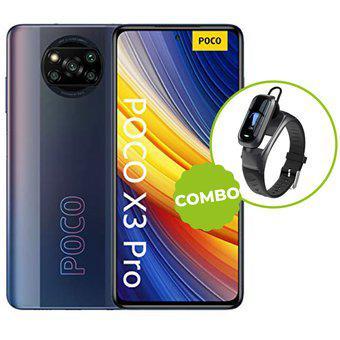 Celular Xiaomi PocoX3 PRO 8 256GB 8GB Ram Negro + Smartband