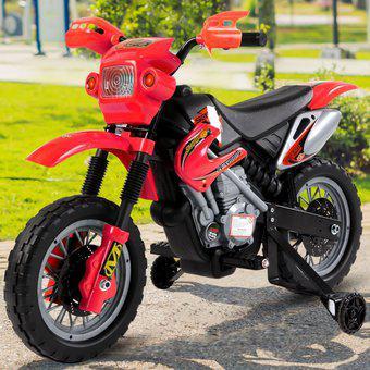 Moto Carro Eléctrico Niños Recargable Montable Todo