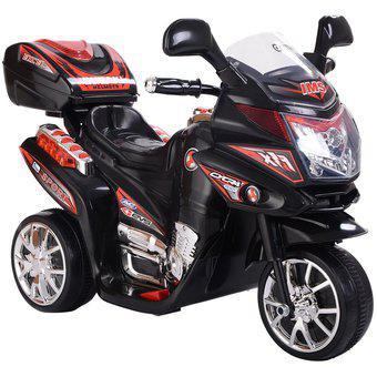 Moto carro electrica montable recargable niños niñas 3