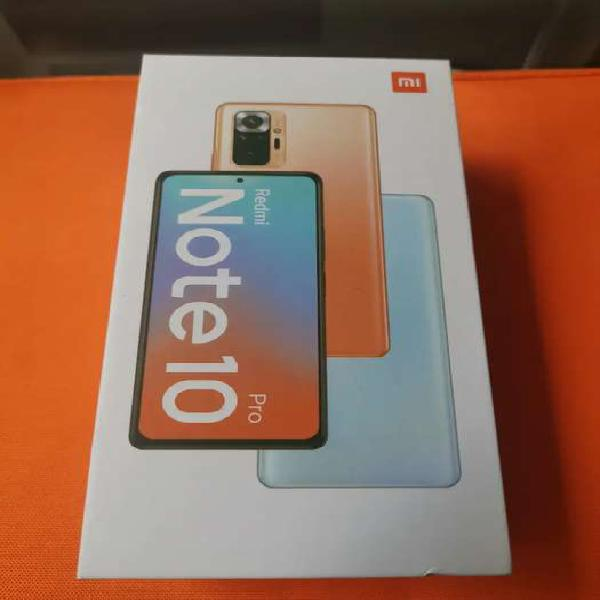 Nuevo) Redmi Note 10 Pro. (128gb/6gb) NO CAMBIOS!
