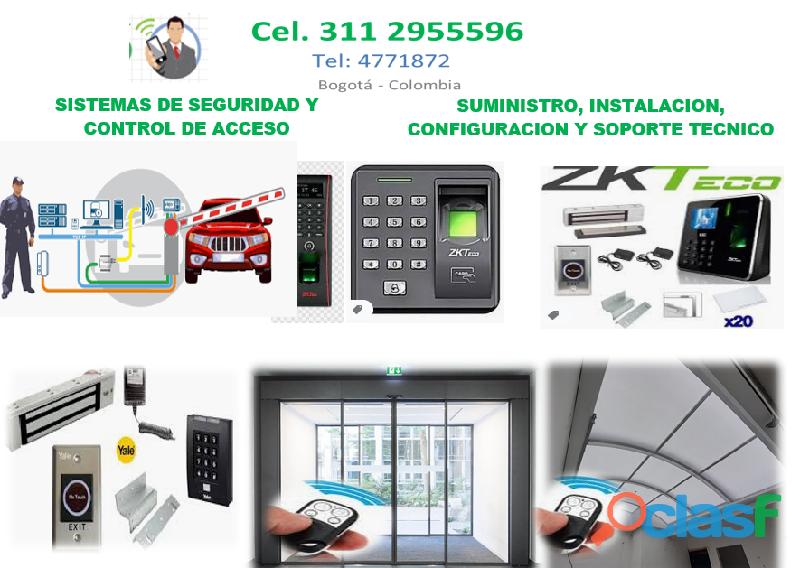 Servicio técnico de control de acceso Bogotá, Sensores de movimiento,