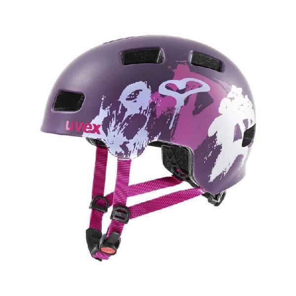 Casco para Bicicleta UVEX HLMT 4 cc morado Talla M