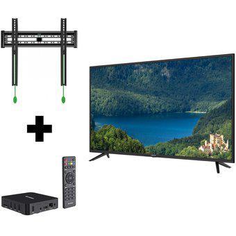 Televisor Vinchi 43 Fhd 43N1 + Soporte + Tv Box (Convertidor