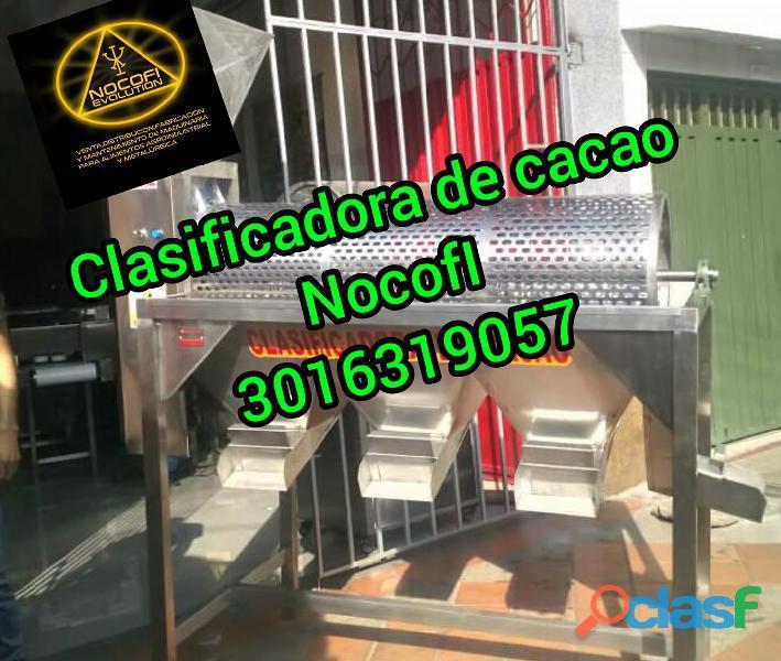 CLASIFICADORA PARA CACAO BASE PISO