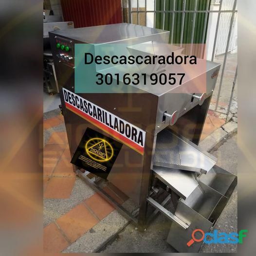 DESCASCARILLADORA ARTESANAL DE CHOCOLATE