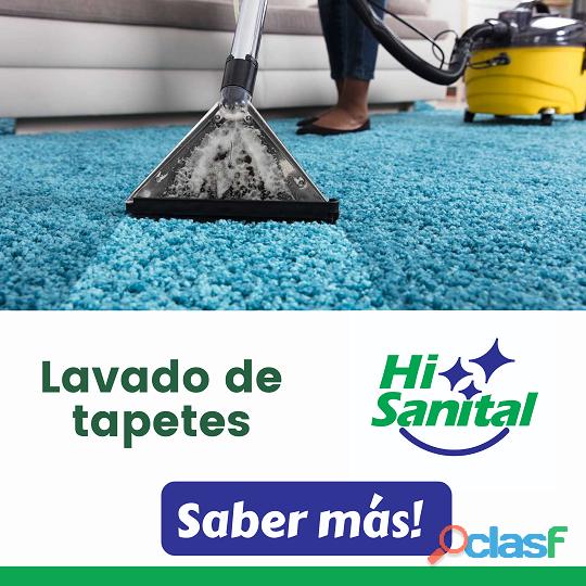 Lavado de tapetes y alfombras