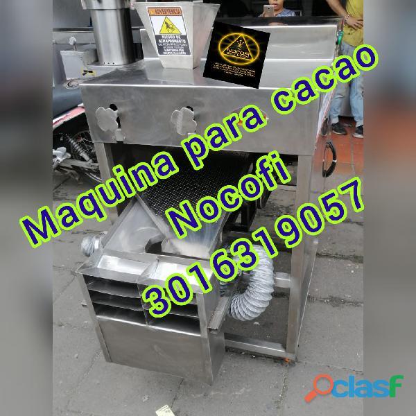 MAQUINA REFINADOR CACAO Y DESCASCARILLADORA CHOCOLATE