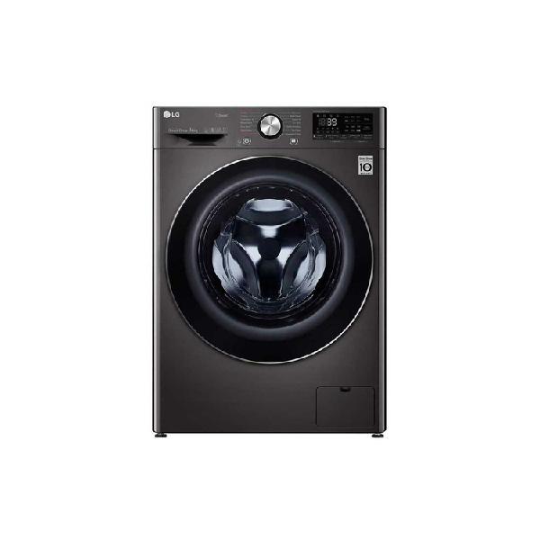 Lavadora secadora lg carga frontal 14kg wd14bvc2s6 negro