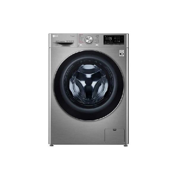 Lavadora secadora lg carga frontal 14kg wd14vvc4s6 gris