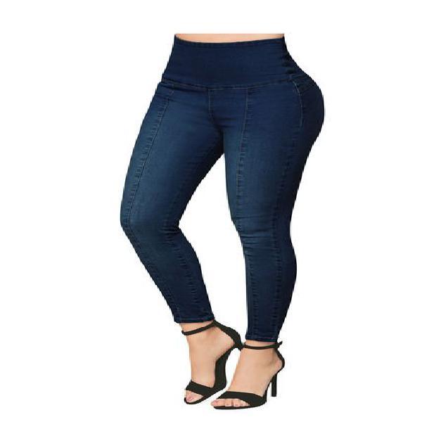 Jean para mujer azul medio mp