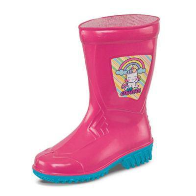 Croydon botas de lluvia calanica fucsia para niña |