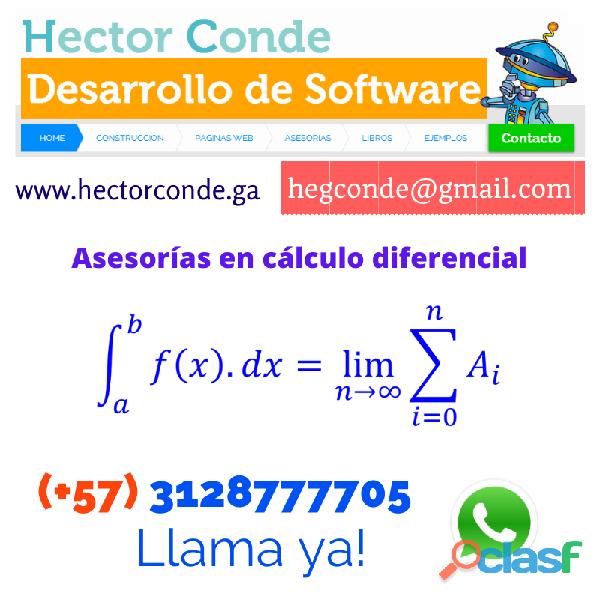 Profesor de cálculo diferencial